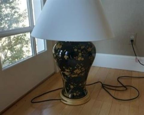 Pair of Asian Influence Lamps