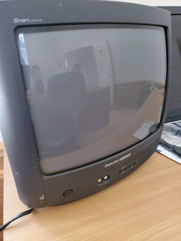 Small Philips Magnavox TV F-23