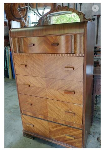 Chest of Drawers w/ Mirror