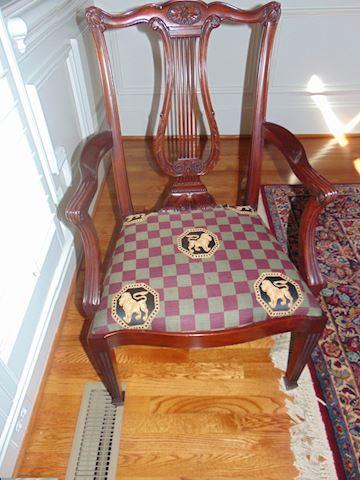Henkel-Harris dining room chairs