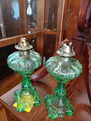 Antique Oil Lamps