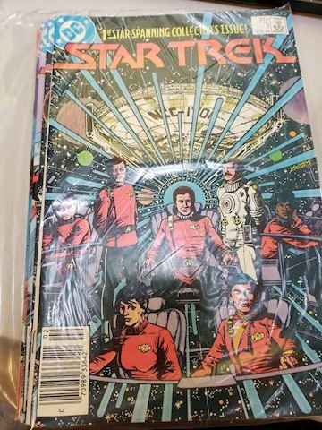 Star Trek issues 1-7