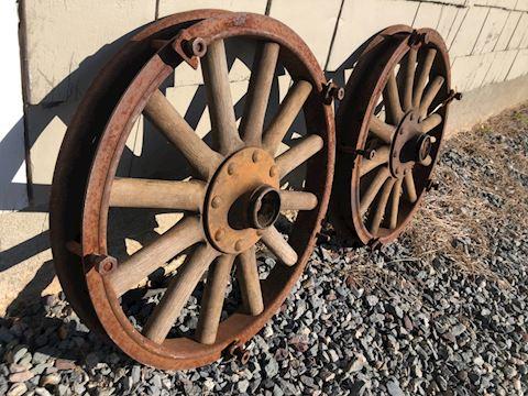 Wood Spoked Automotive Wheels