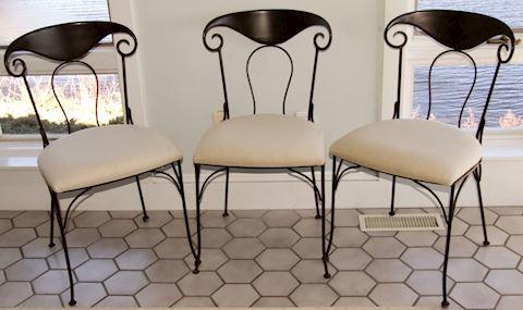 Set of Three - Café Chairs