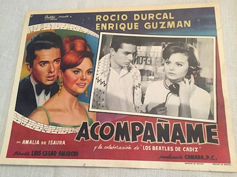 Mexican Movie Poster Acompaname