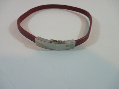 Leather Coach Choker