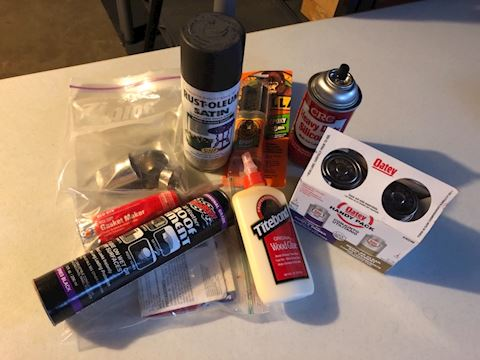Glue, and household item lot