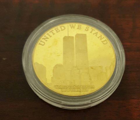 Remembering September 11, 2001 Commemorative Coin