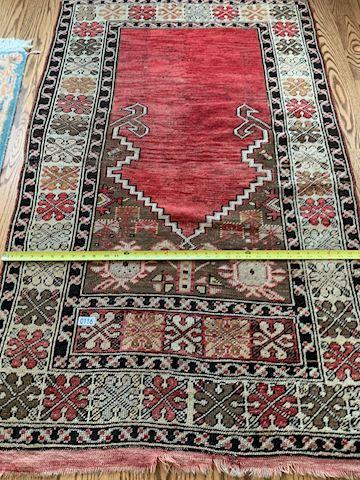 Lot 0116 Oriental wool Rug