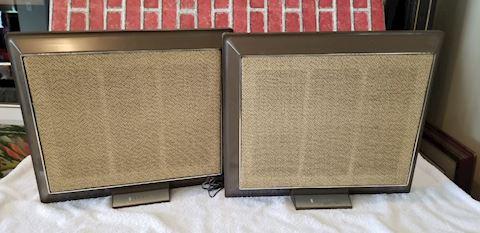 Zenith GA50-4 vintage stereo speakers