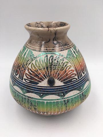 Native American Navajo Pottery Vse Hilda Whitegoat