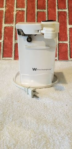 white westinghouse 9210 vintage electric can open
