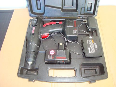 Craftsman 15.6v drill & battery pack Lot #150