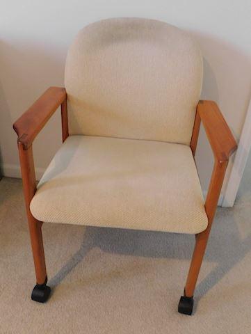 Teak Wood Desk Chair
