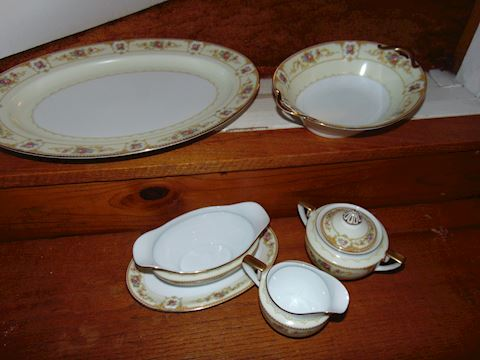 Noritake Chinese Serving Pieces