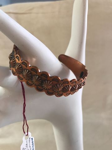 Tourist trade copper  bracelet