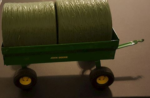 Vintage John Deere Wagon Pulley Model