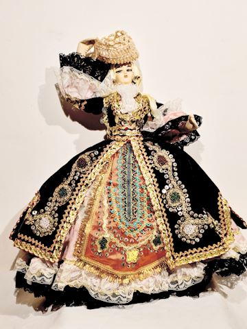 Spanish Victorian Doll Fashion Apparel