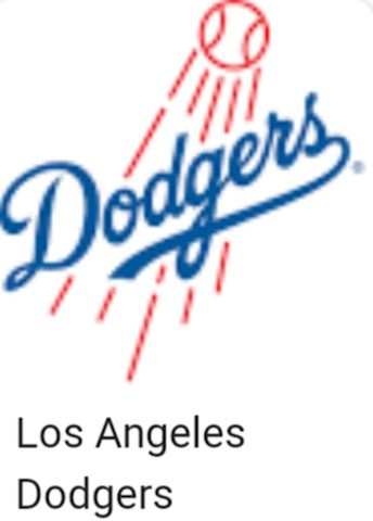 Collection of 100 Los Angeles Dodgers Baseball Car