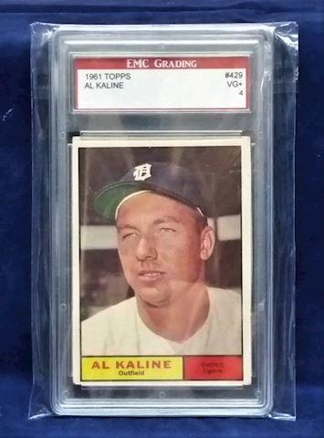 Al Kaline Baseball Card 1961 Topps #429