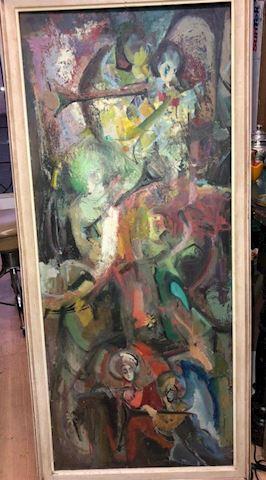 Nikito Rodriquez vintage oil painting