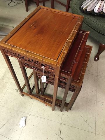 Vintage Chinese Nesting Tables