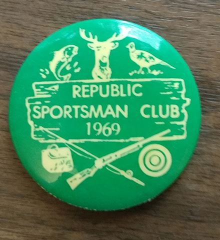 1969 Republic Sportsman Club Pin