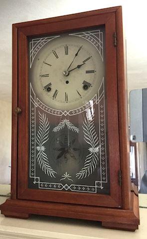 Vintage S. Larose 8 Day Mantel Clock