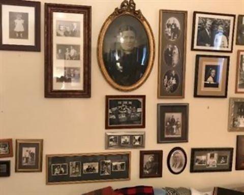 Vintage framed Photos