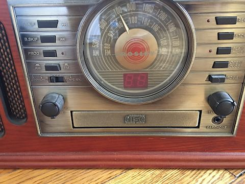 Crosley Record CD Player with Speakers
