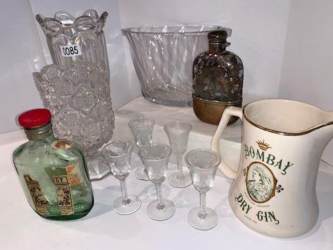 Lot 0085 Hand blown glasses Cognac
