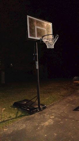 Quality Weighted Adult Size Basketball Hoop