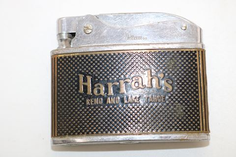 Vintage Reno &  Lake Tahoe Harrah's Lighter