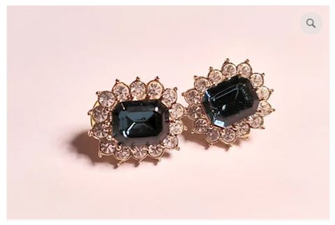 Brilliant Earrings Amethyst