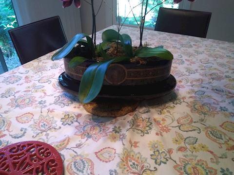 "Planter Glazed Ceramic ""Sevres"""