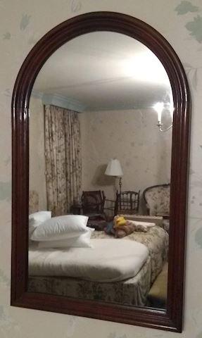 "MB  314  ""Wall Mirror w/frame"""