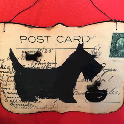 Group of Framed Postcards