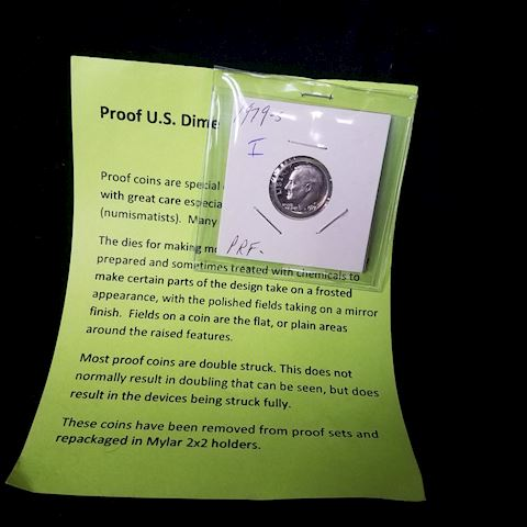 U.S. Proof Dime 1979 S Mint