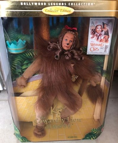 Ken as the Cowardly Lion Doll