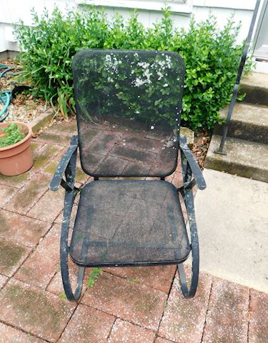 217 Screen Pattern Outdoor Chair