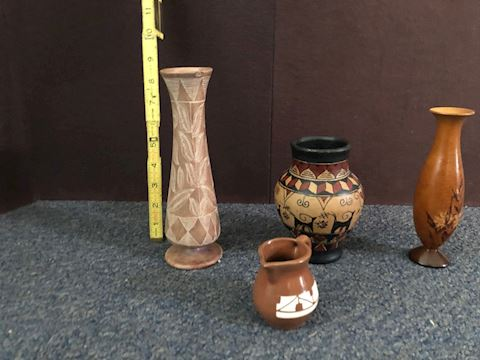 A Variety of Decorative Vases