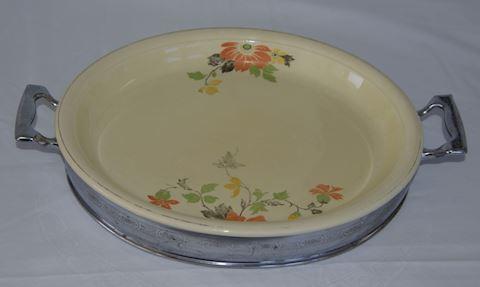 Floral Pie Dish