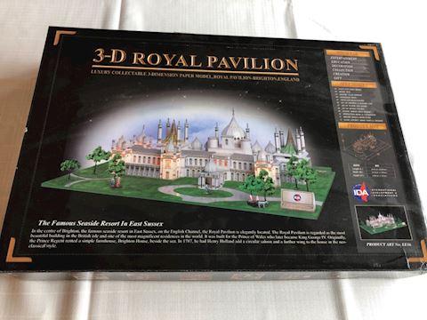 3D Paper Model kit, Royal Pavilion NEW