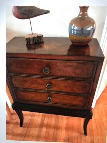 triple draw cabinet