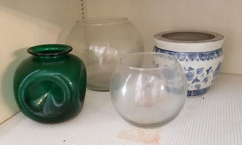 Assorated Bowls and Vases