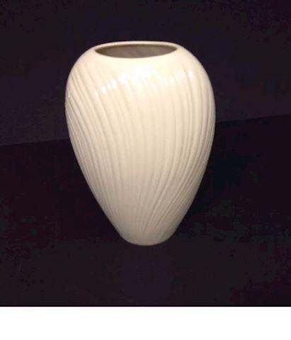 Large White Lennox Vase