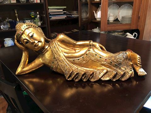 Asian decor statue