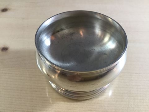 Vintage Pewter master salt dish