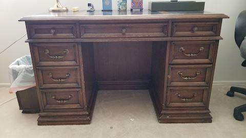 Nice wooden desk