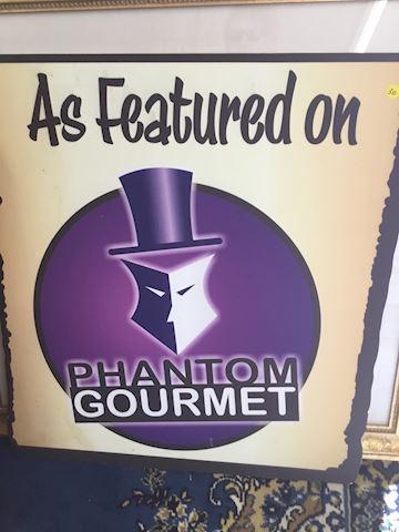 Phantom Gourmet Vintage Sign